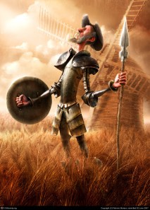 Cervantes + Bots = Don Quixote?