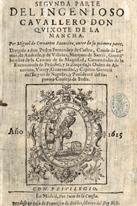 The 1615 edition published by Juan de la Cuesta