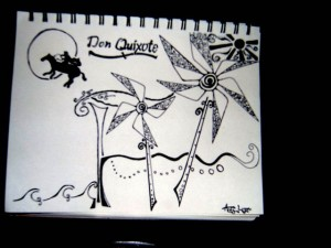 """Don Quixote"" by Flicker User Andy Logan"