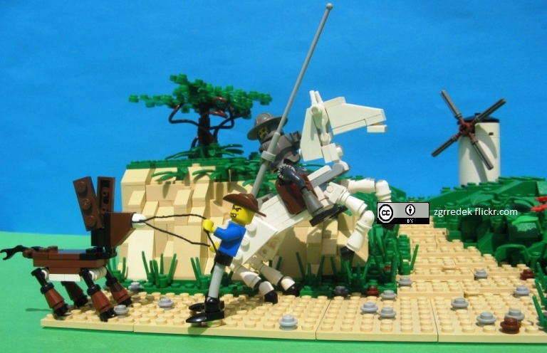 Lego Don Quixote zgrredek flickr